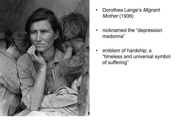 Dorothea Lange's