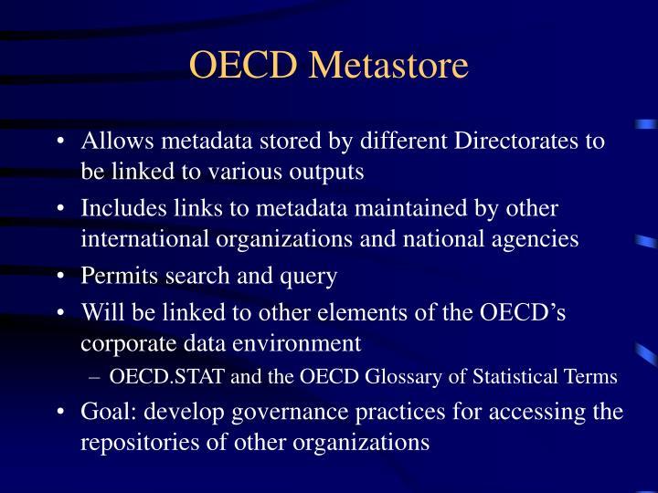 OECD Metastore