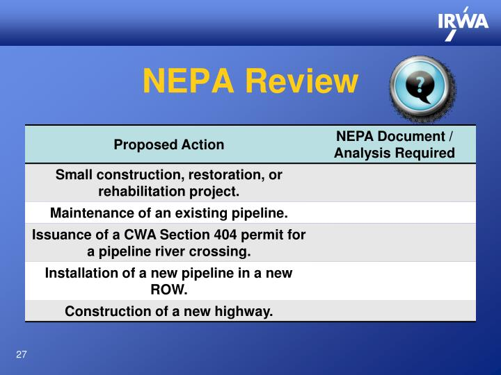 NEPA Review