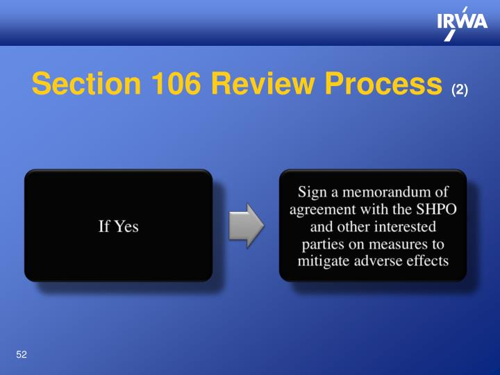 Section 106 Review Process