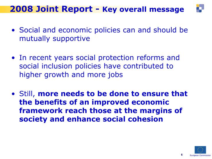 2008 Joint Report -
