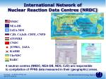 international network of nuclear reaction data centres nrdc