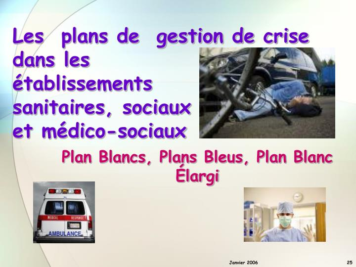 Plan Blancs, Plans Bleus, Plan Blanc Élargi