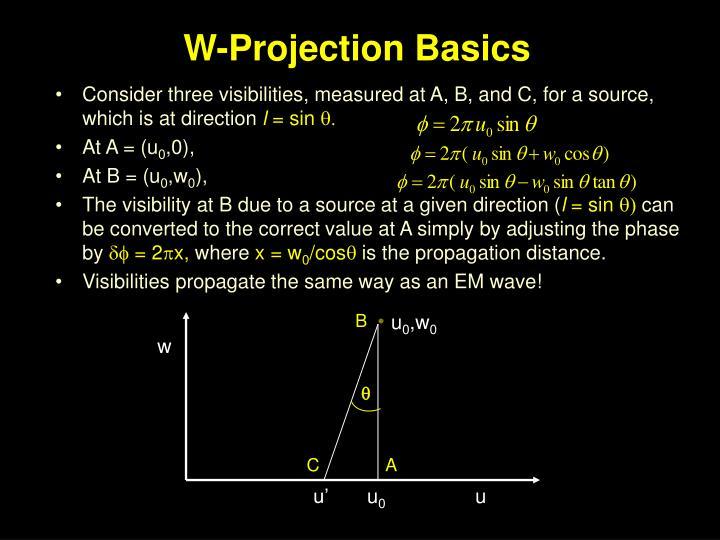 W-Projection Basics