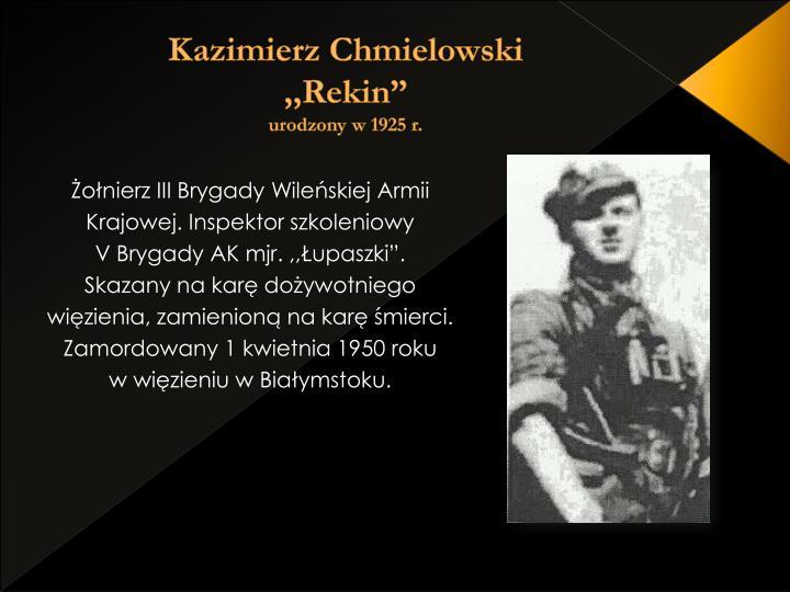 Kazimierz Chmielowski