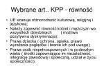 wybrane art kpp r wno1