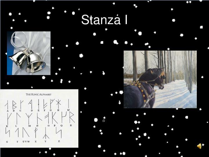 Stanza I