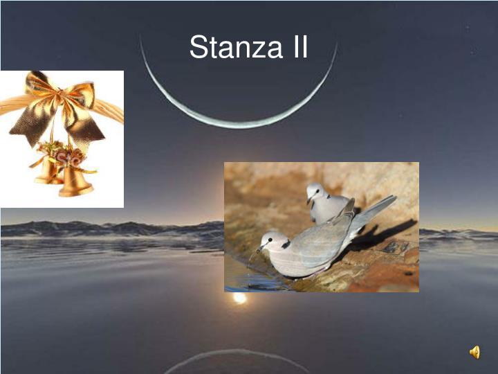 Stanza II
