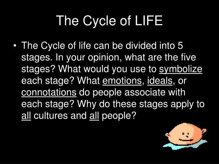 The Cycle of LIFE