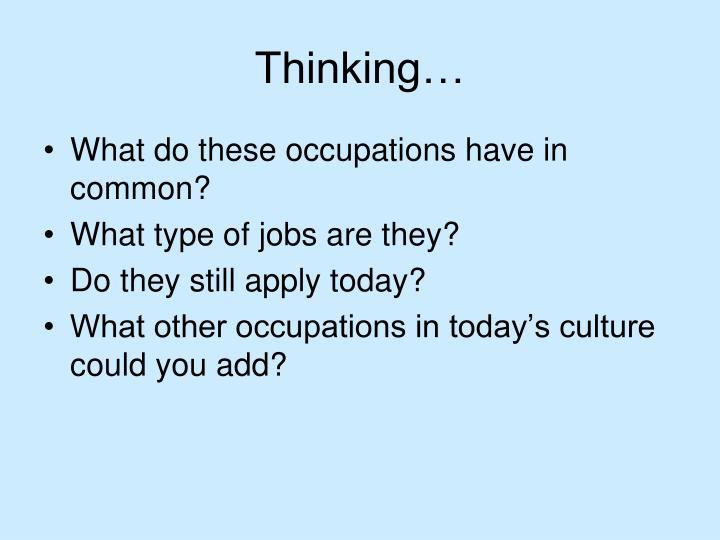Thinking…