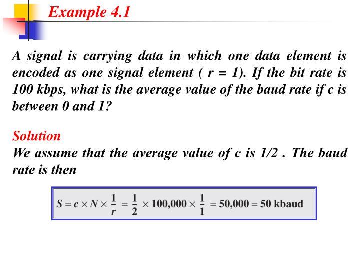 Example 4.1