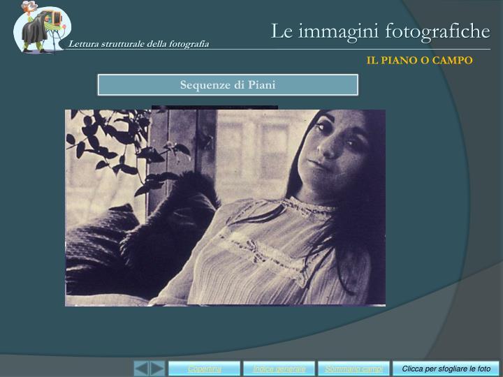 Le immagini fotografiche