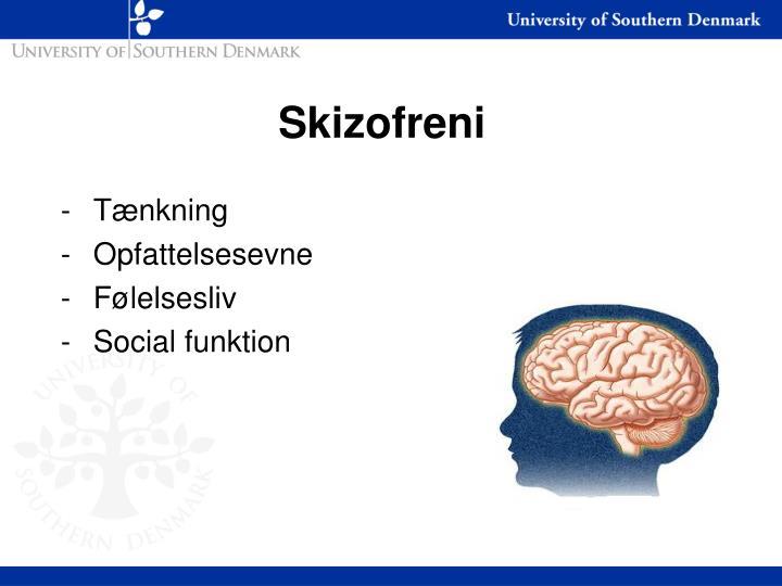 Skizofreni