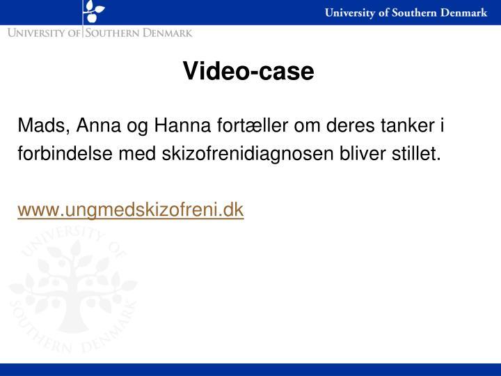 Video-case