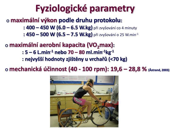 Fyziologické parametry