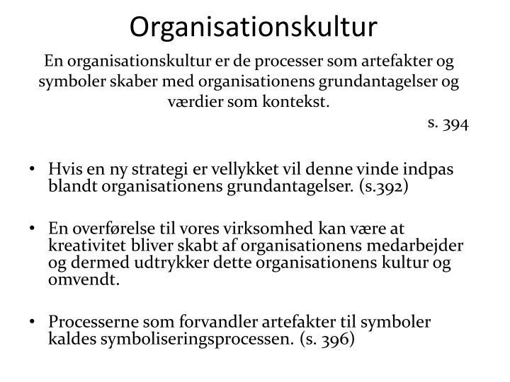 Organisationskultur