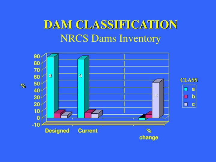 DAM CLASSIFICATION