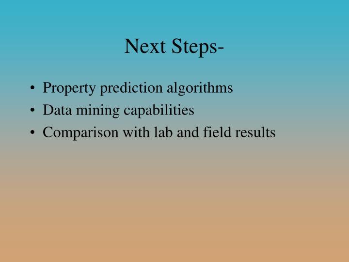 Next Steps-