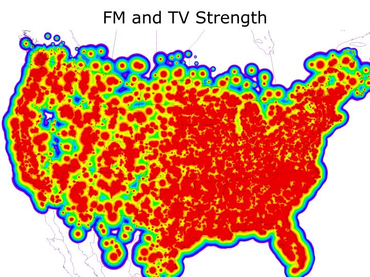 FM and TV Strength