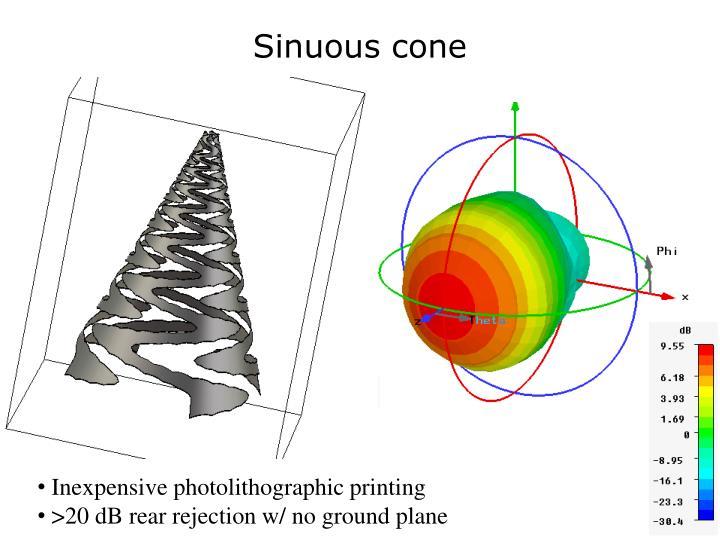 Sinuous cone