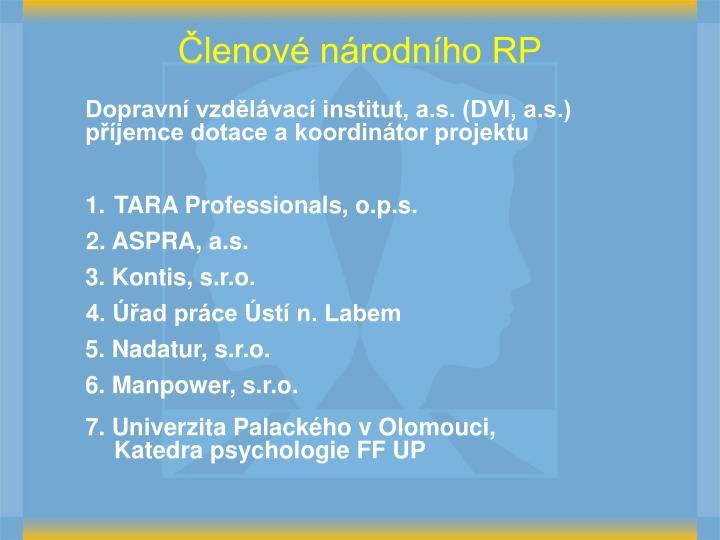 TARA Professionals, o.p.s.