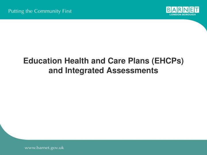 Education Health and Care Plans (EHCPs)