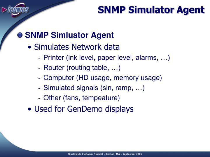 SNMP Simulator Agent