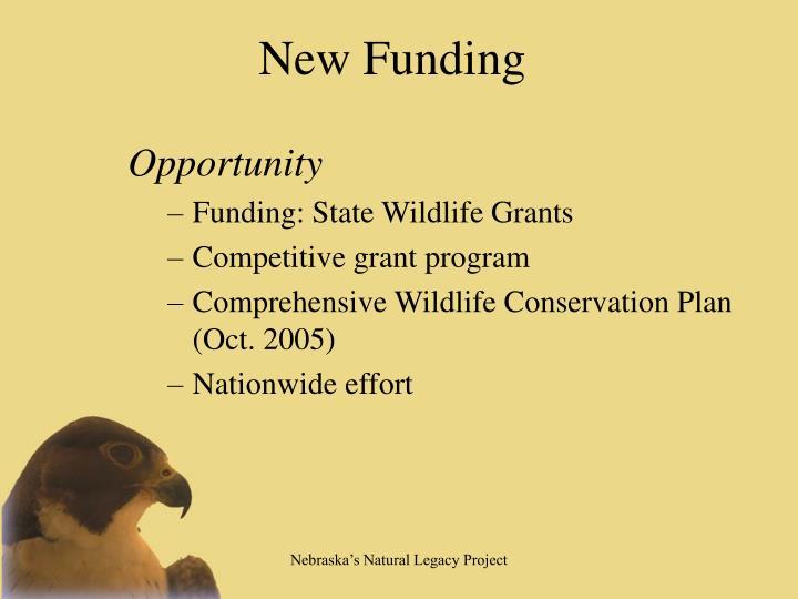 New Funding