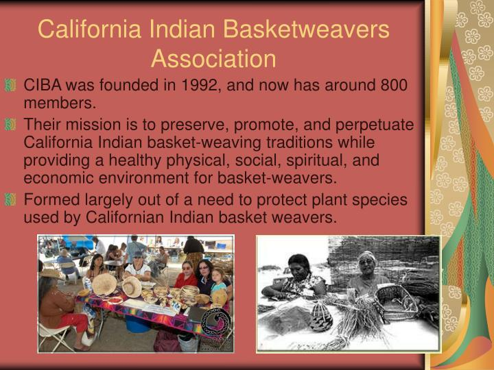 California Indian Basketweavers Association