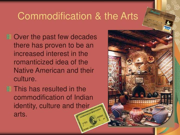 Commodification & the Arts