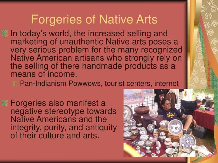 Forgeries of Native Arts