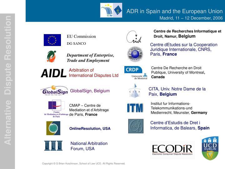 Centre de Recherches Informatique et Droit, Namur,