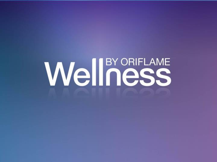 Wellness by oriflame pristato