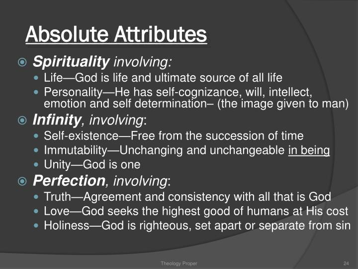 Absolute Attributes