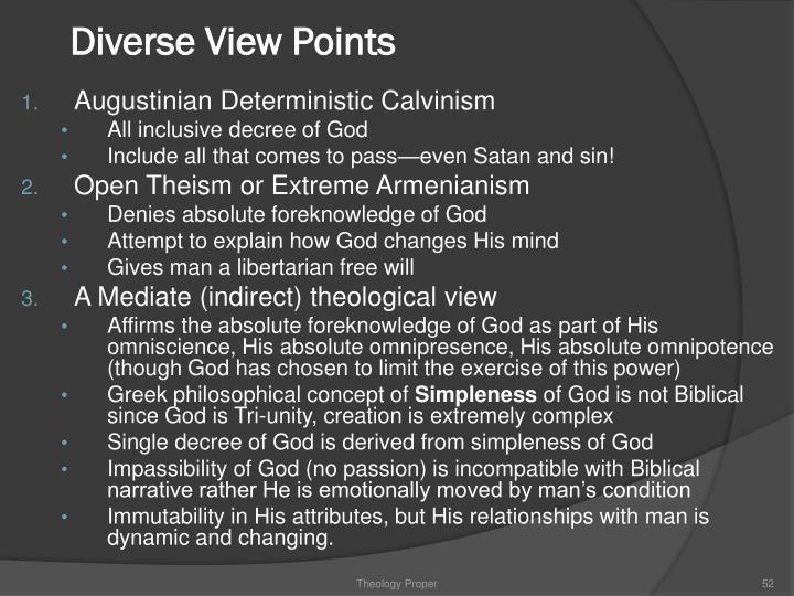 Diverse View Points