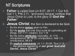 nt scriptures