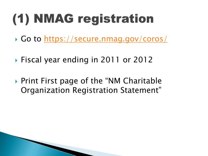 (1) NMAG