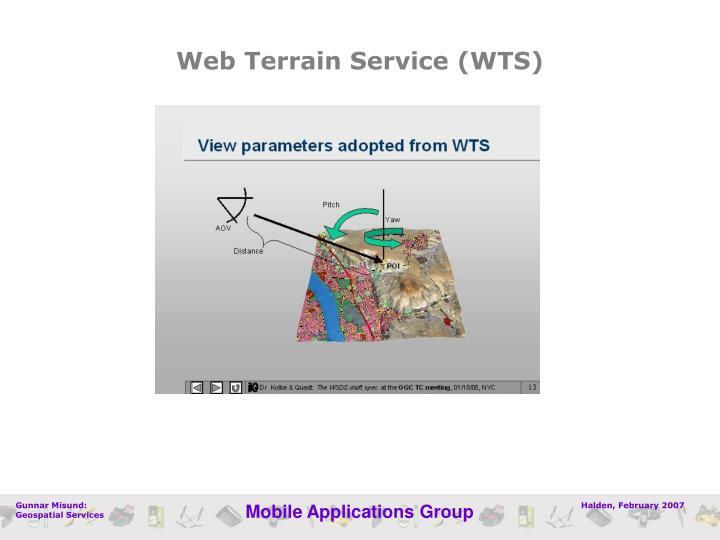 Web Terrain Service (WTS)