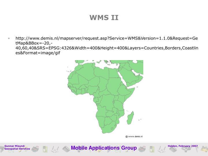 WMS II