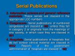 serial publications1