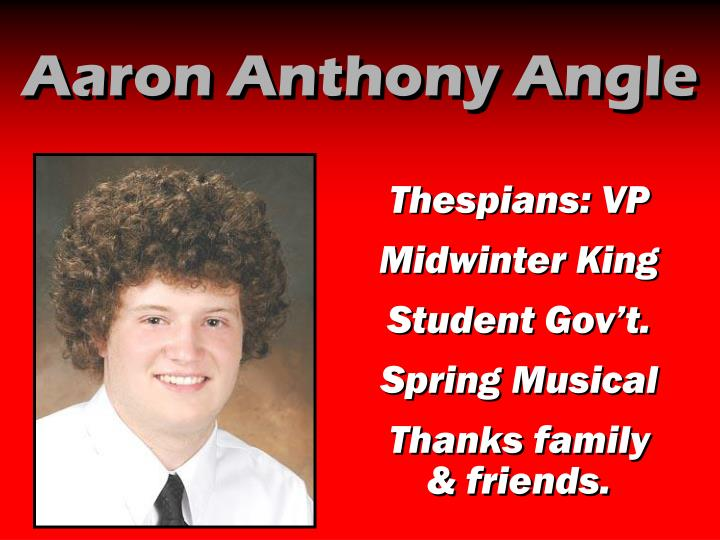 Aaron Anthony Angle
