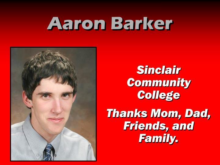Aaron Barker