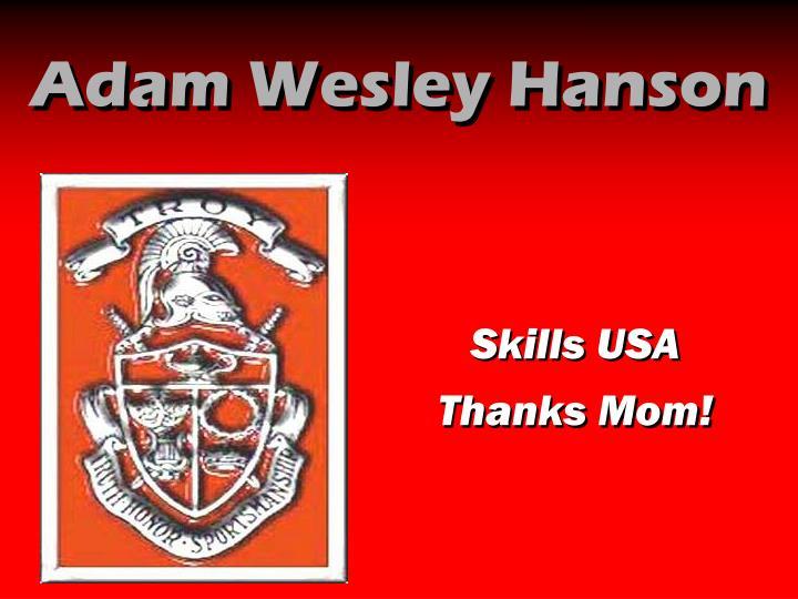 Adam Wesley Hanson