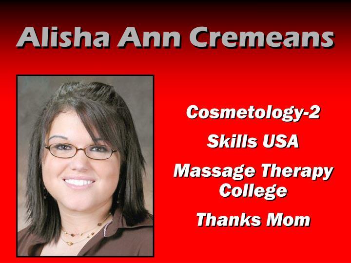 Alisha Ann Cremeans