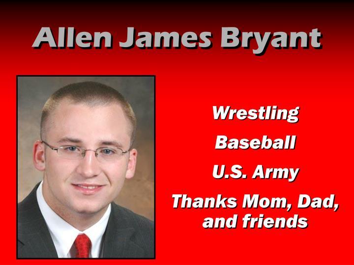 Allen James Bryant