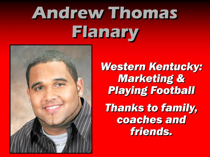 Andrew Thomas Flanary