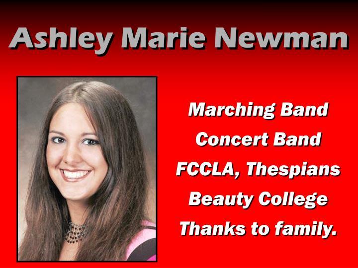 Ashley Marie Newman