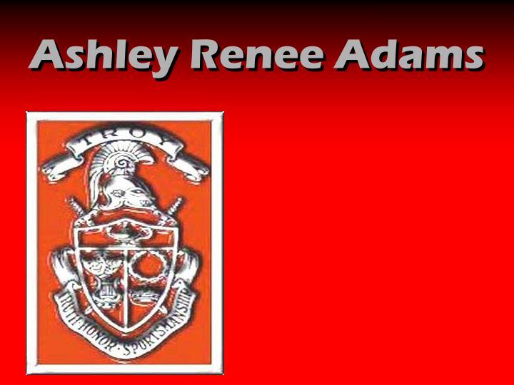 Ashley Renee Adams