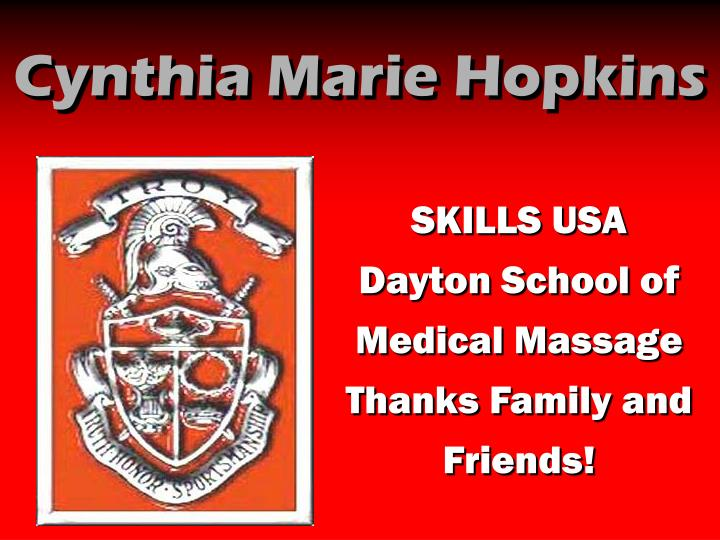 Cynthia Marie Hopkins