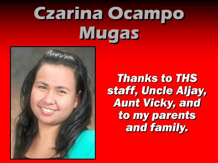 Czarina Ocampo Mugas